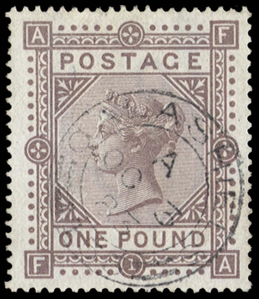 GB 1882  SG132 Pl.1 Used