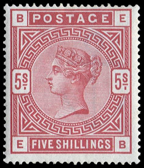 GB 1884  SG176 Mint
