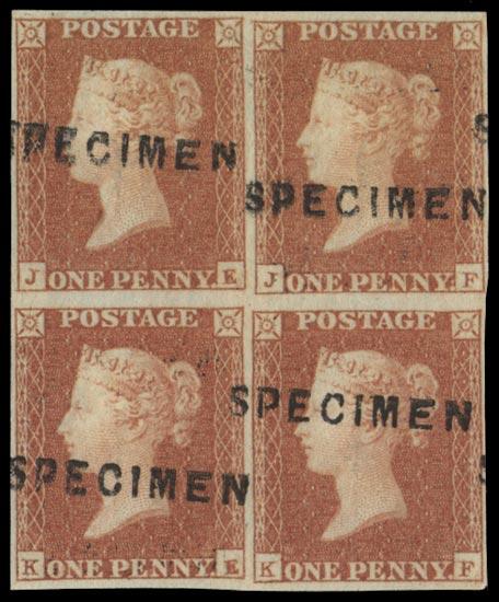 GB 1841  SG8s Pl.90 Specimen
