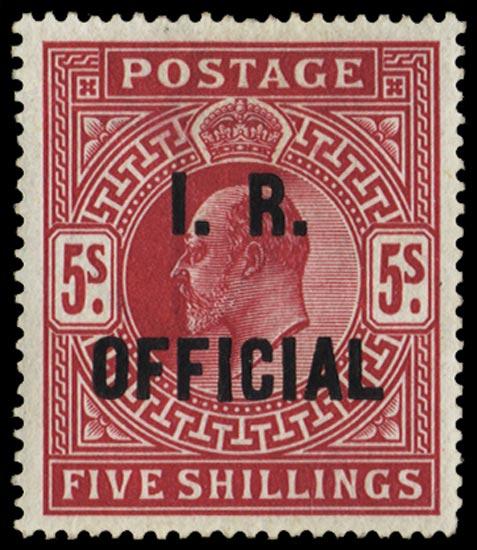 GB 1902  SGO25 Official