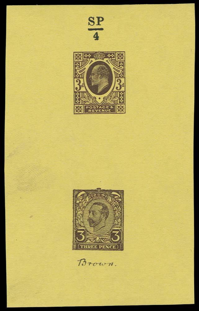 GB 1911  SG232var Mint