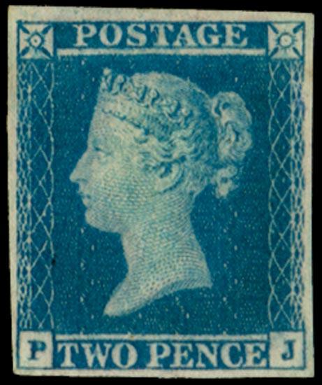 GB 1851  SG15aa Pl.4 Mint