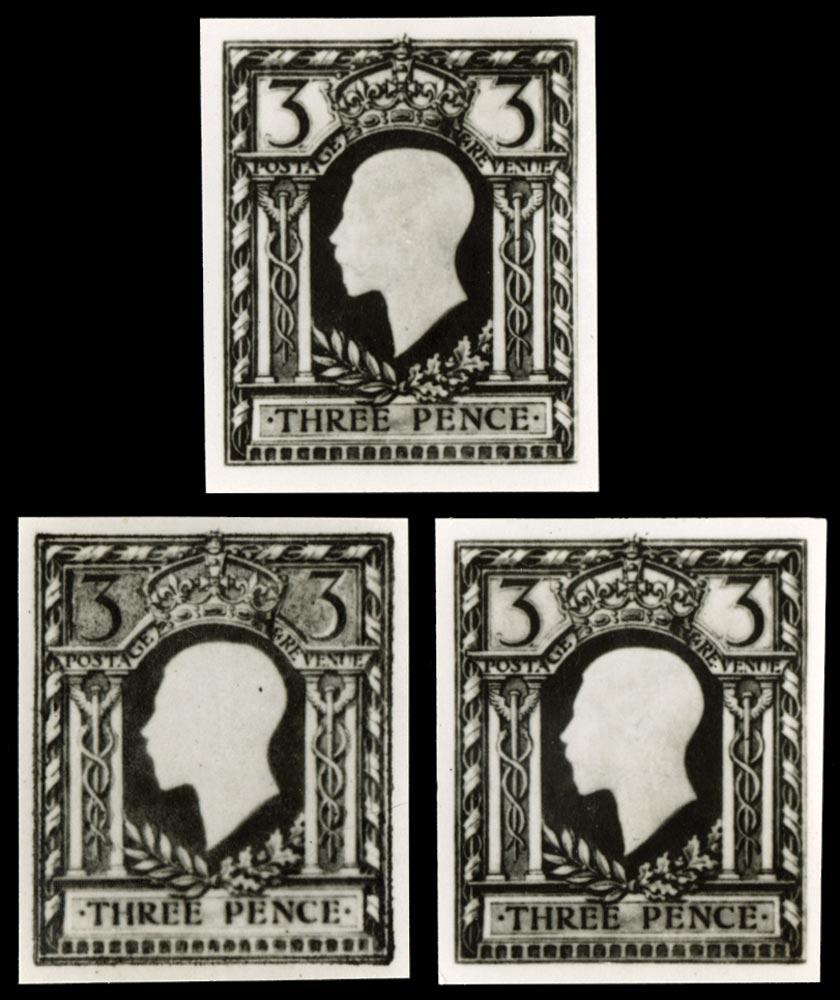 GB 1910  SG374var Proof