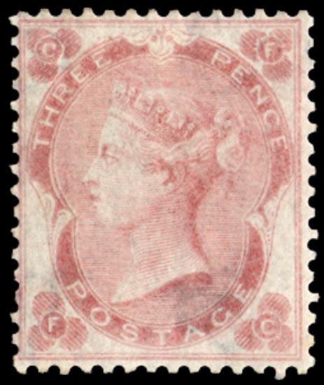 GB 1862  SG77 Pl.2 Mint