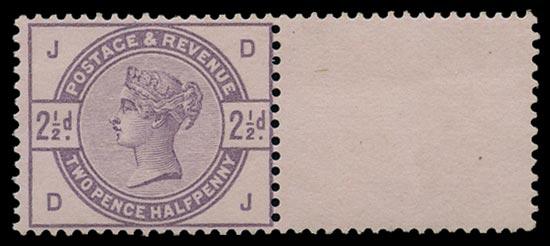 GB 1883  SG190var Mint