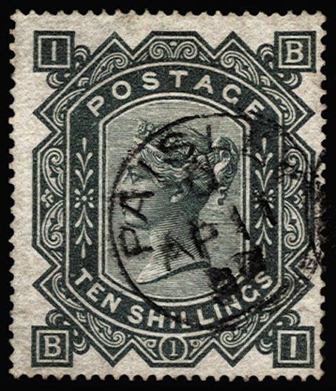 GB 1878  SG128 Pl.1 Used