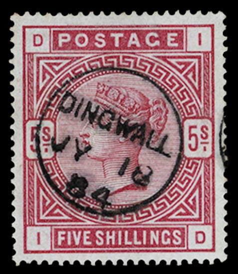 GB 1884  SG176 Used