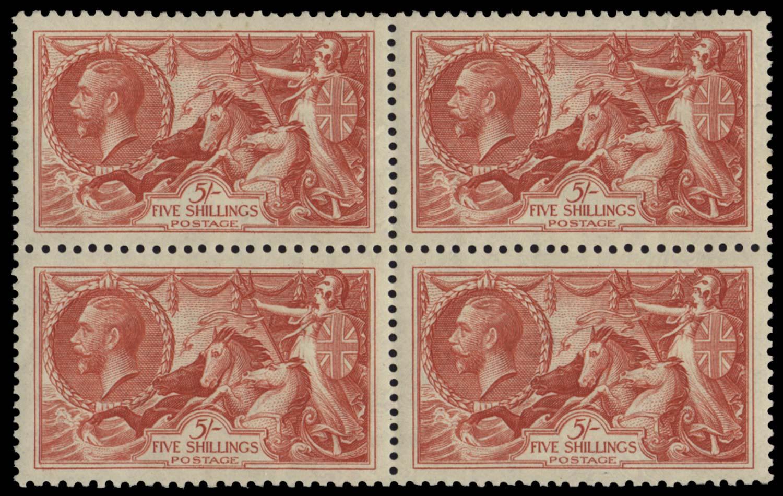 GB 1934  SG451 Mint block of four