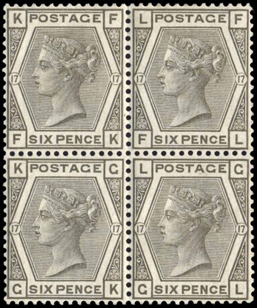 GB 1880  SG147 Mint