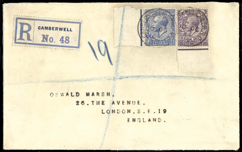 GB 1924  SG422/3 Cover