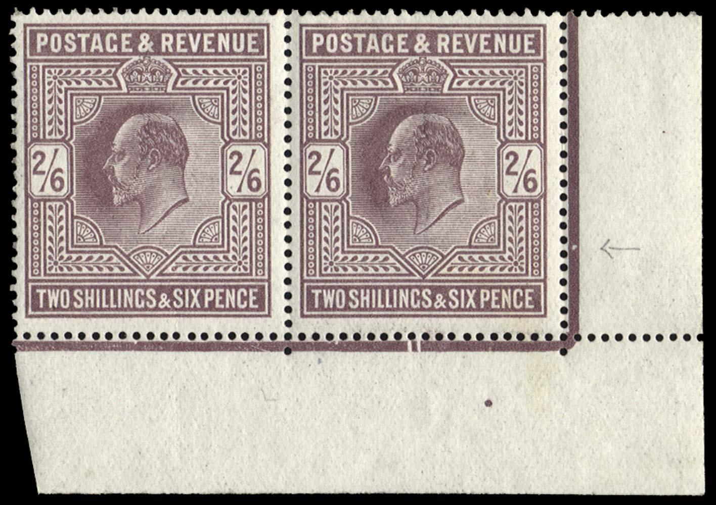 GB 1913  SG316var Mint