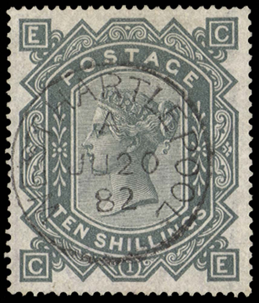 GB 1878  SG128 Pl.1 Used