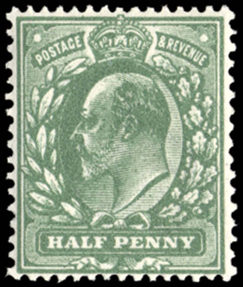 GB 1911  SG279var Mint