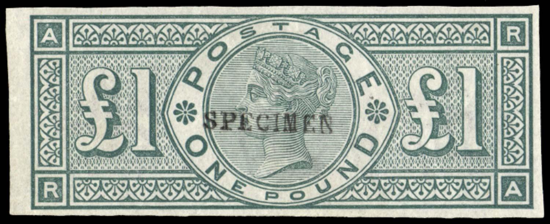 GB 1890  SG212var Specimen