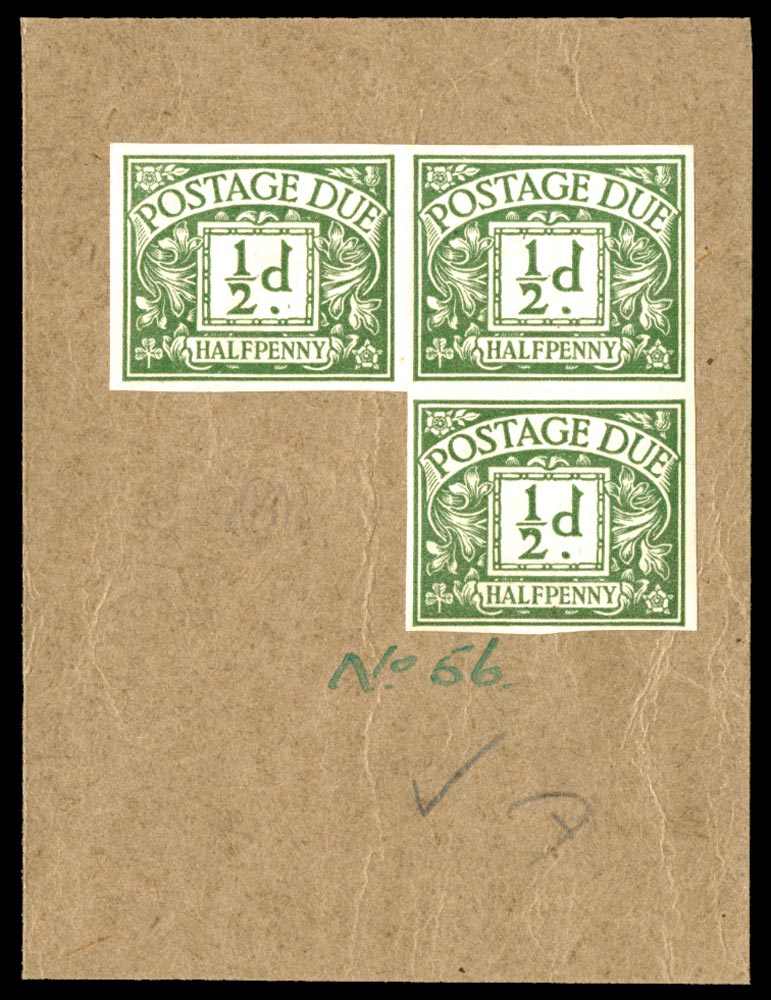 GB 1923  SGD18var Postage Due