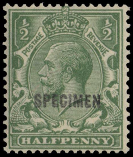 GB 1924  SG418var Specimen