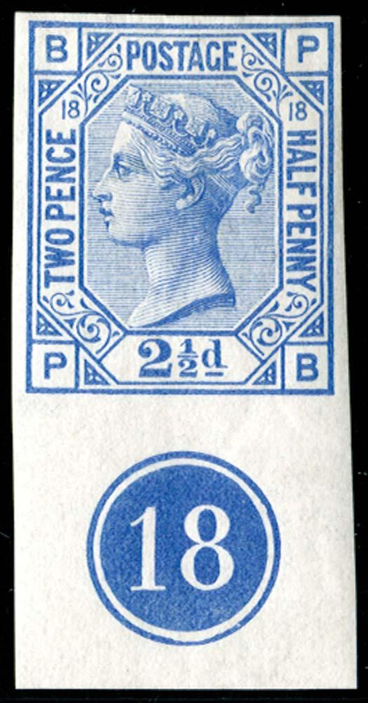GB 1880  SG142var Mint