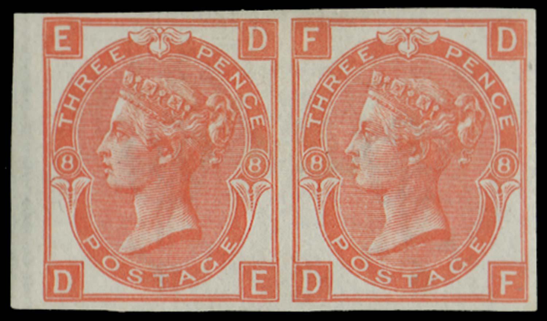 GB 1867  SG103var Mint