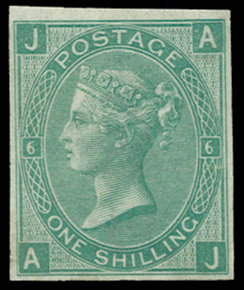 GB 1871  SG117var Pl.6 Mint
