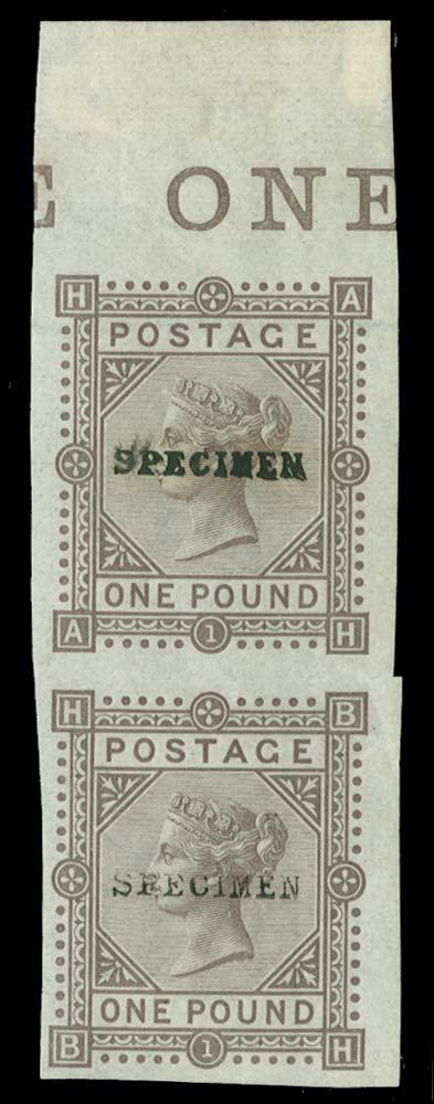 GB 1878  SG129var Mint