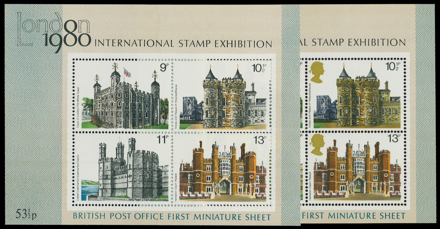 GB 1978  SGMS1058b Mint light yellow-olive omitted