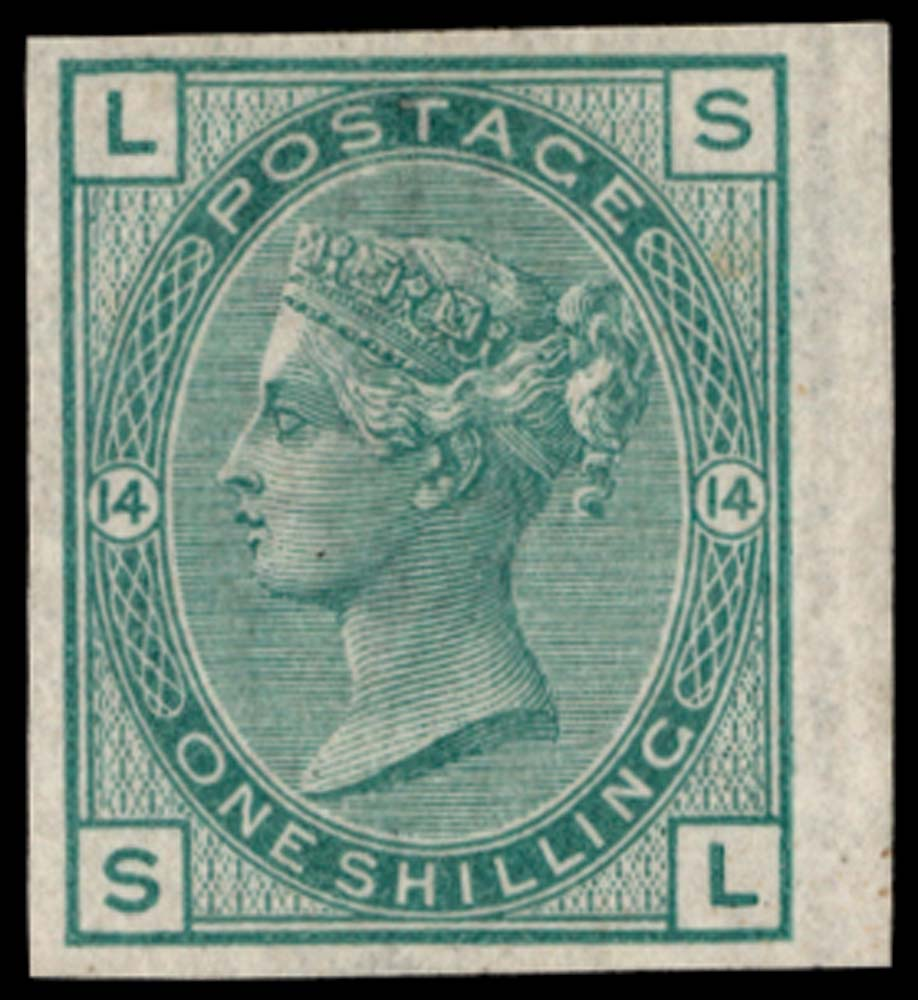 GB 1876  SG150var Pl.14 Mint