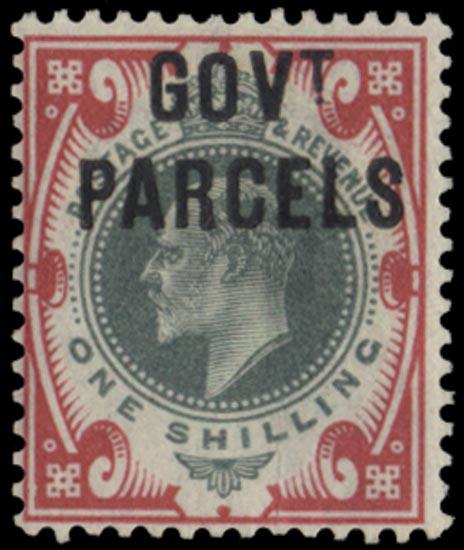 GB 1902  SGO78 Mint