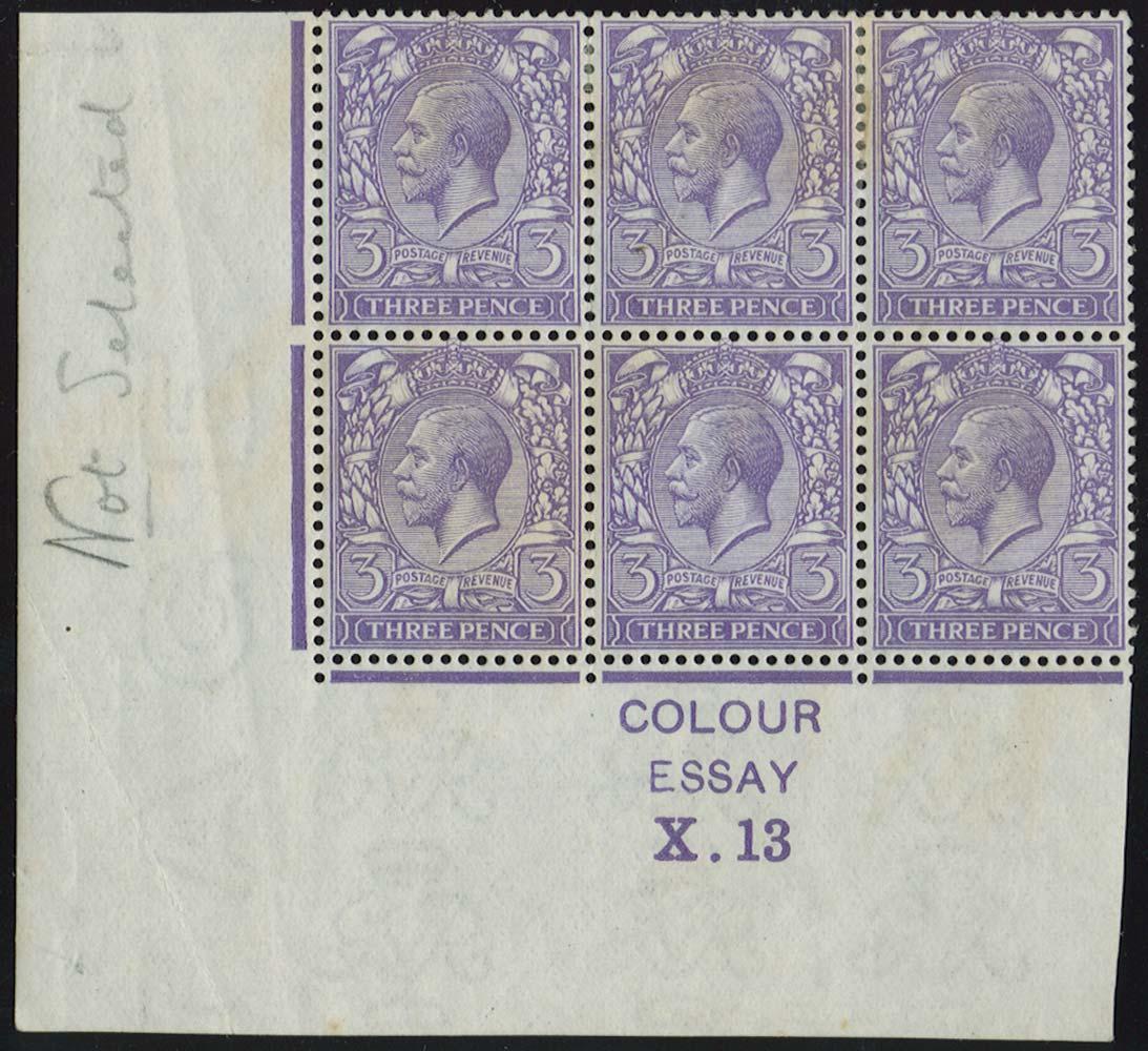 GB 1913  SG375var Mint