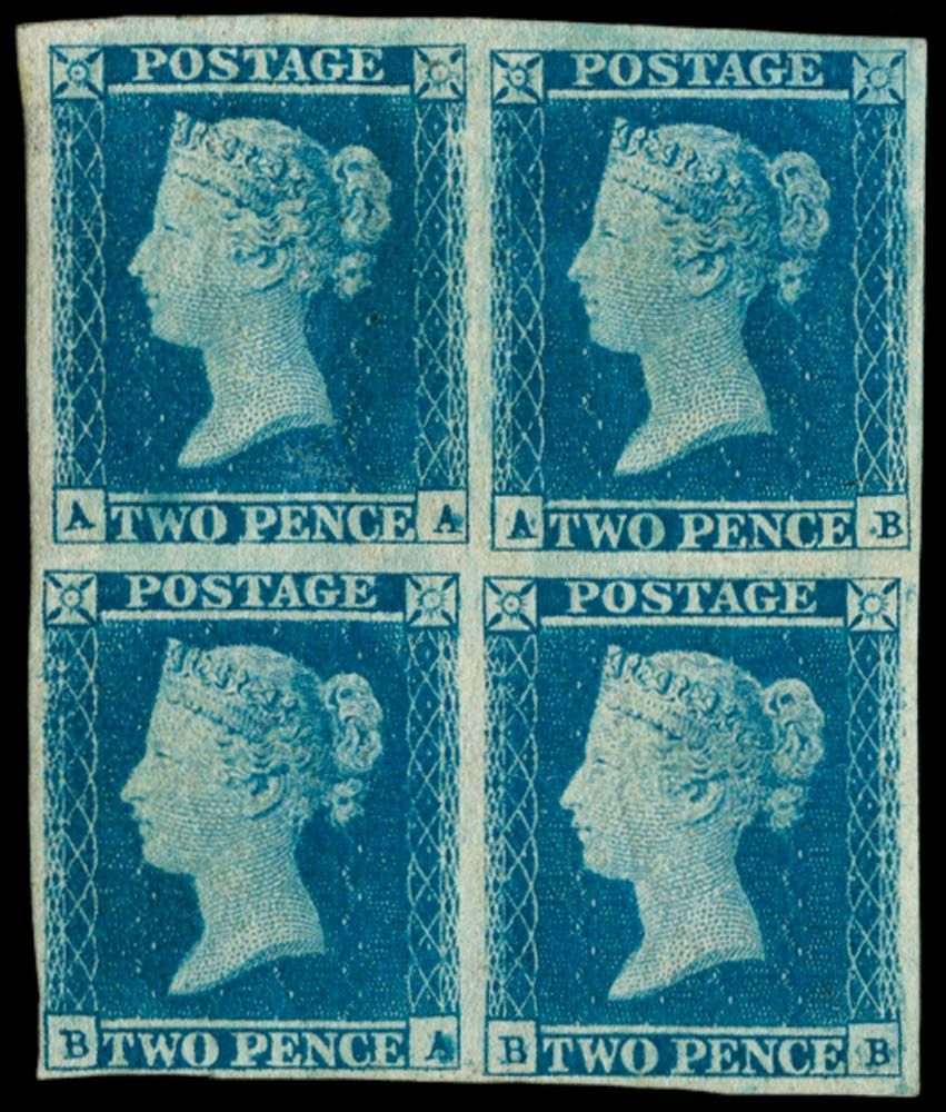 GB 1841  SG14 Pl.4 Mint