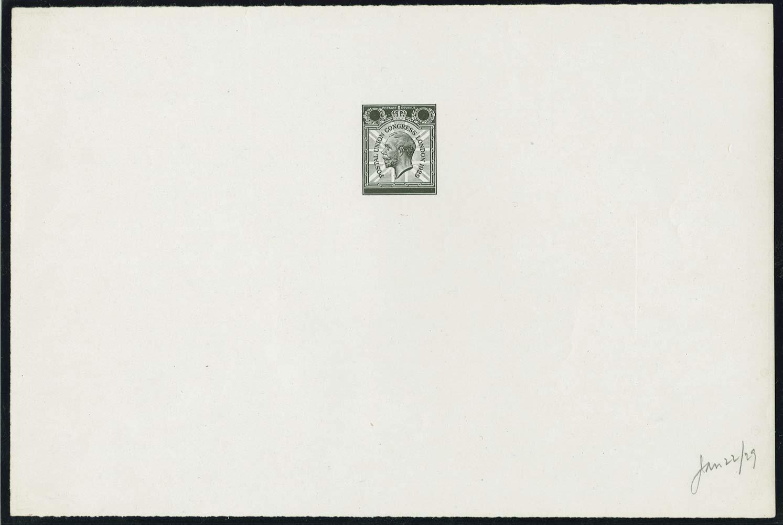 GB 1929  SG435var Proof