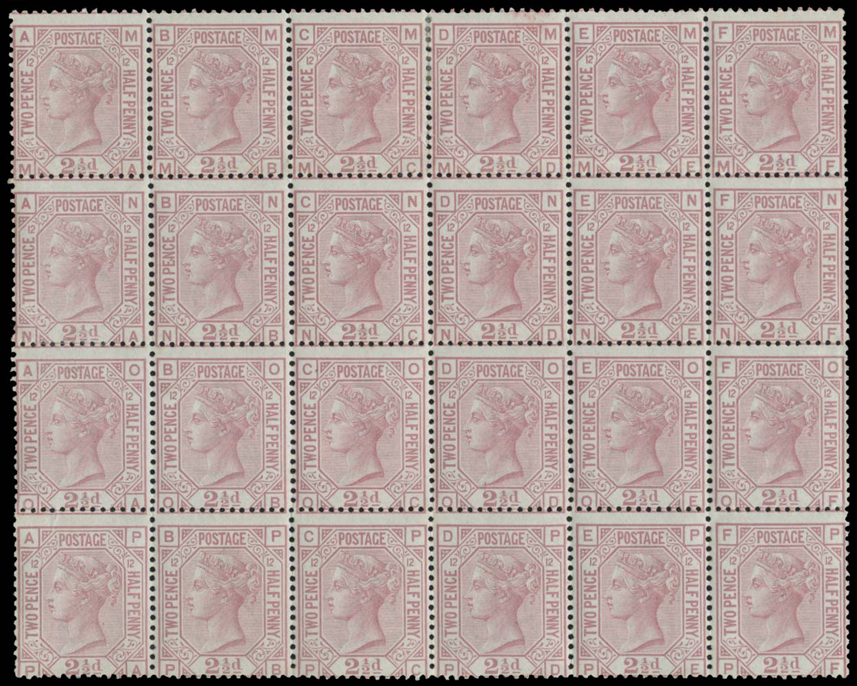 GB 1878  SG141 Pl.12 Mint
