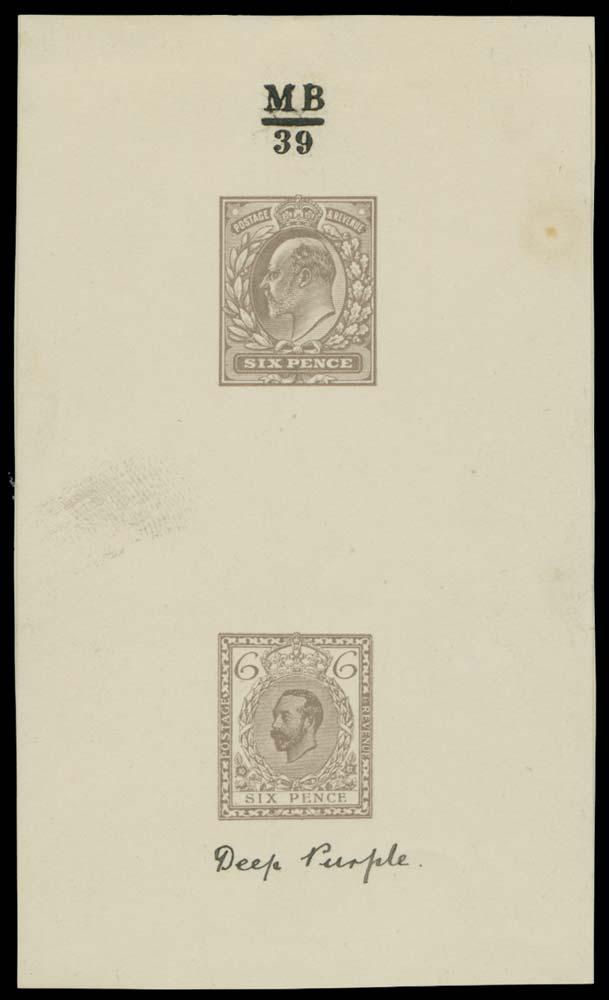 GB 1911  SG245var Mint