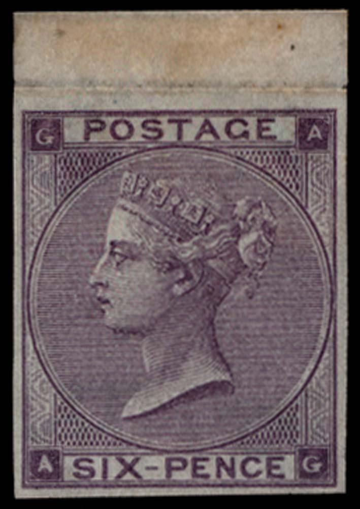 GB 1864  SG85var Mint