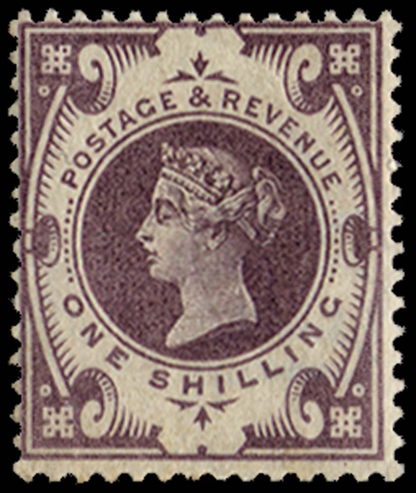 GB 1900  SG211var Mint