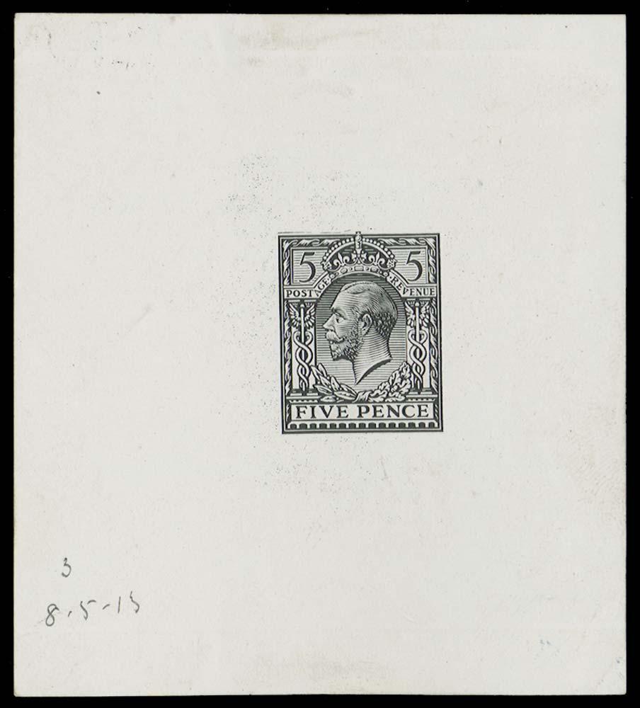 GB 1913  SG381var Proof