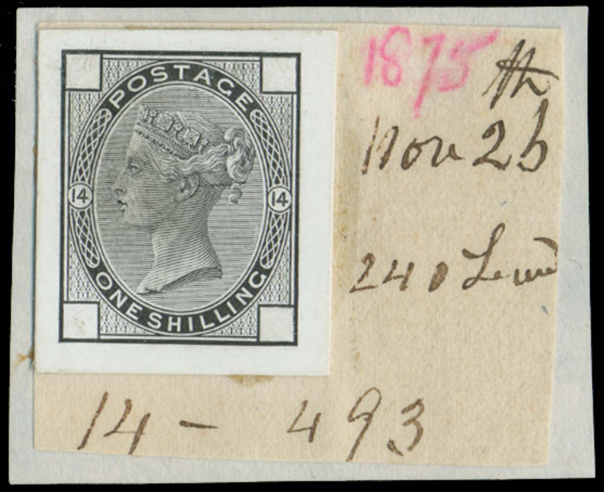 GB 1875  SG150var Pl.14 Proof