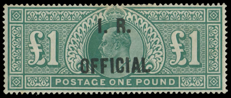GB 1902  SGO27 Official