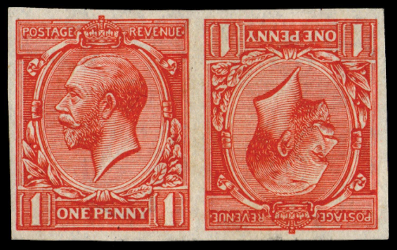 GB 1912  SG357var Mint