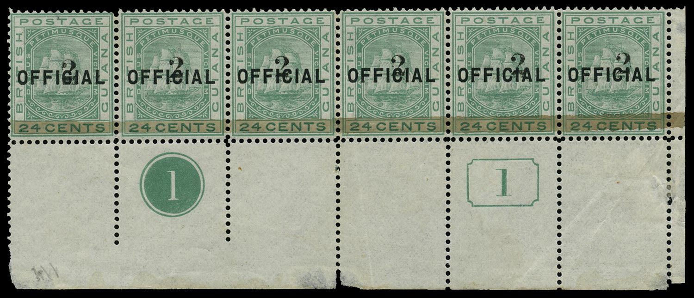 BRITISH GUIANA 1881  SG157 Mint