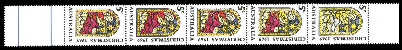 AUSTRALIA 1969  SG444/a Mint