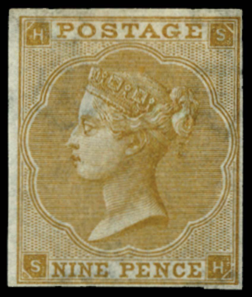 GB 1862  SG88var Mint