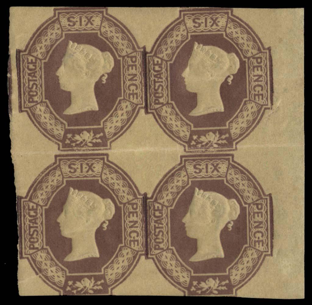 GB 1854  SG58 Mint