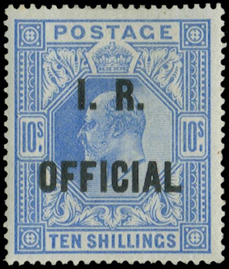 GB 1902  SGO26 Mint