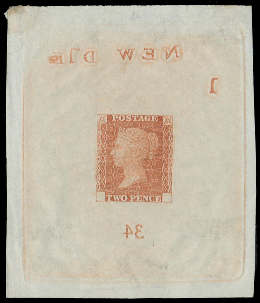 GB 1871  SGDP46b Proof