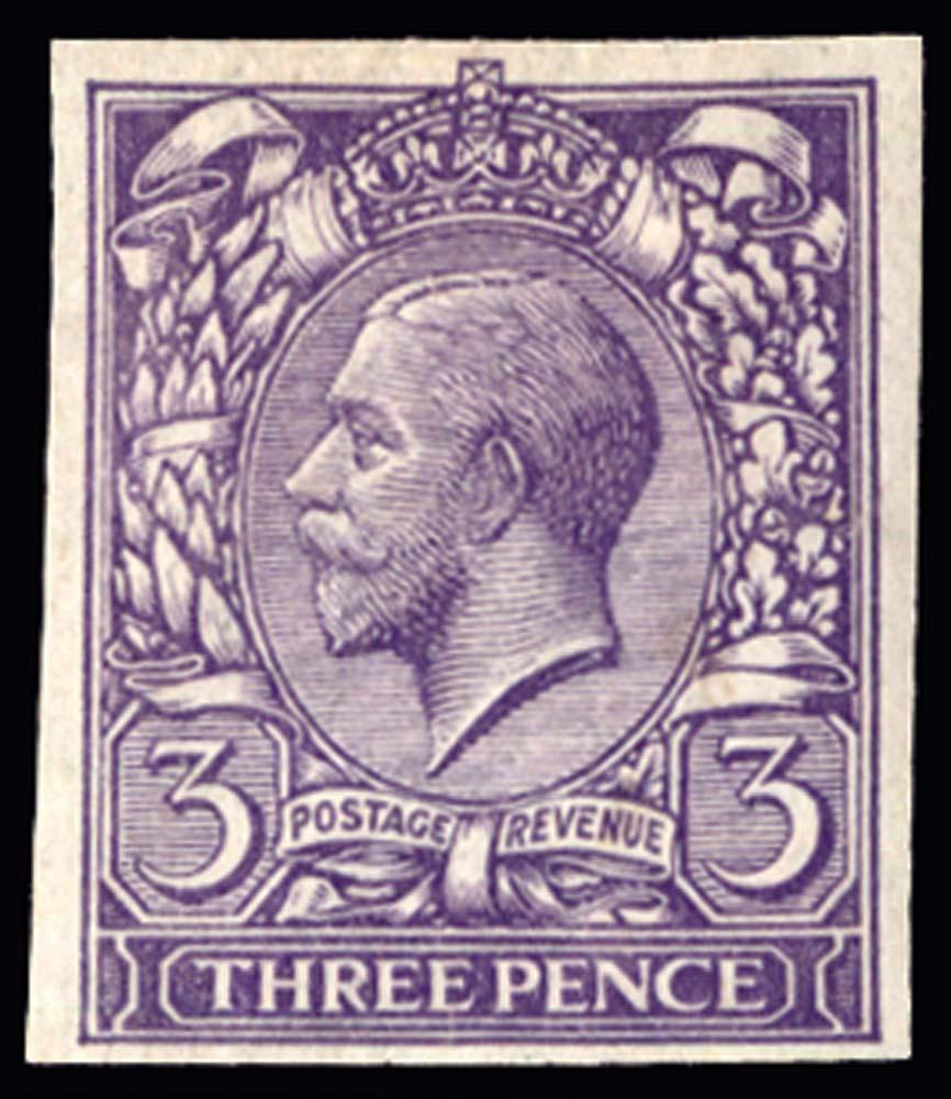 GB 1912  SG376var Mint