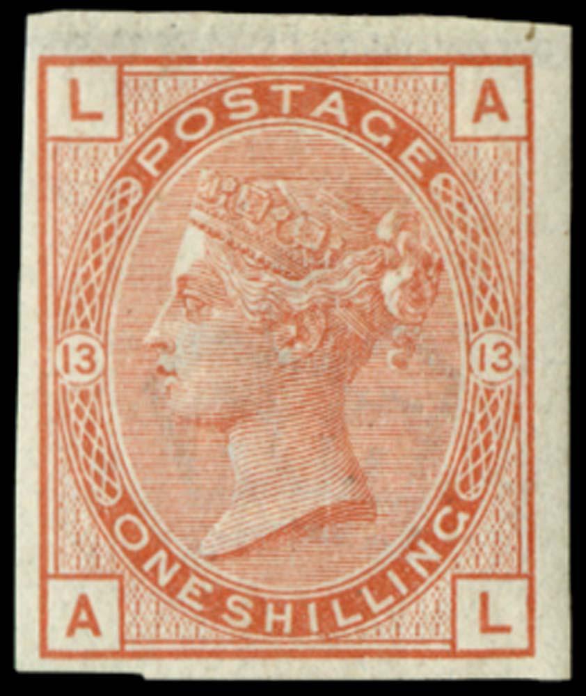 GB 1880  SG163var Pl.13 Mint