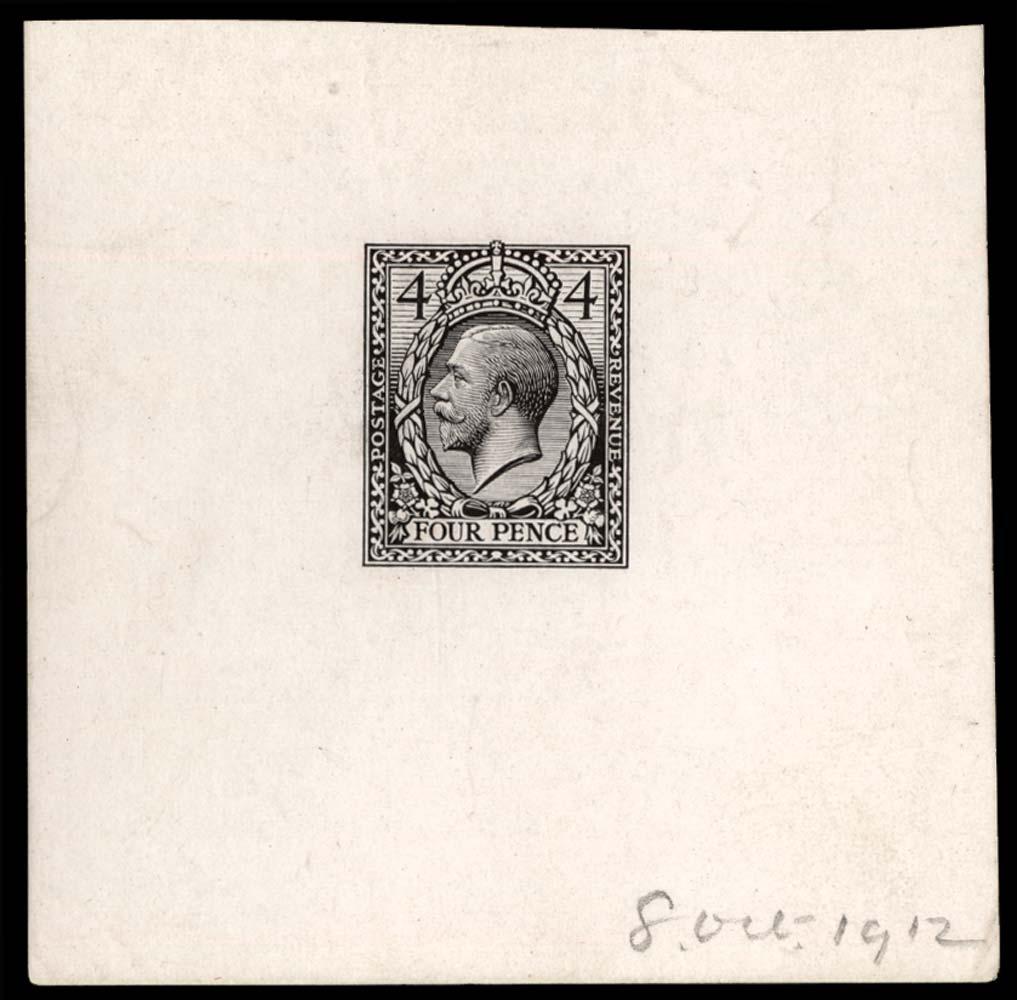 GB 1912  SG378var Mint