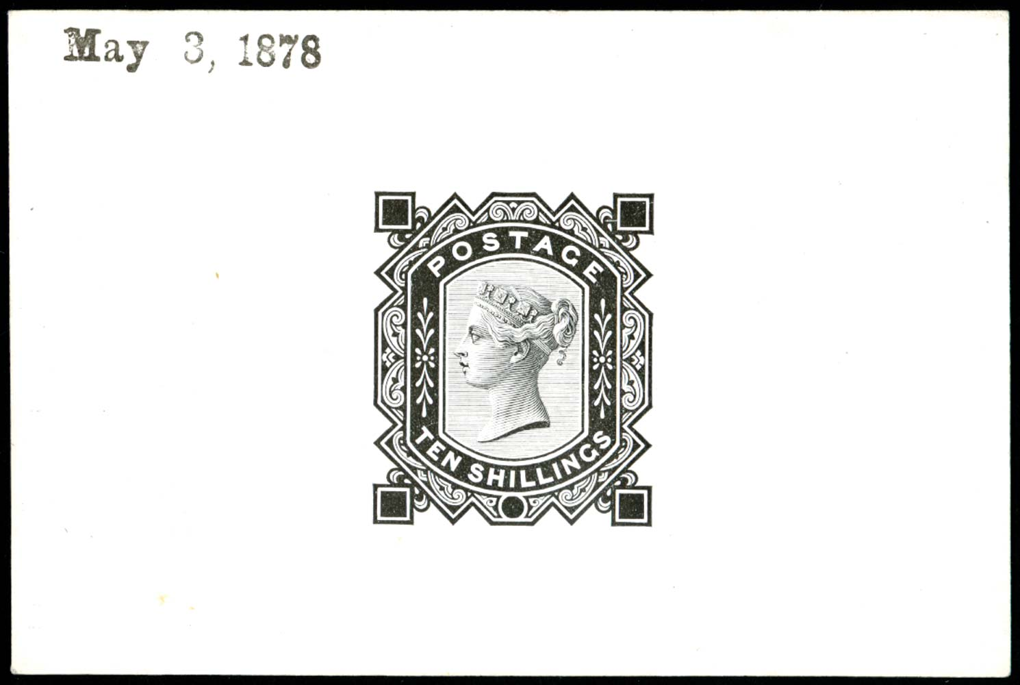 GB 1878  SG128var Proof