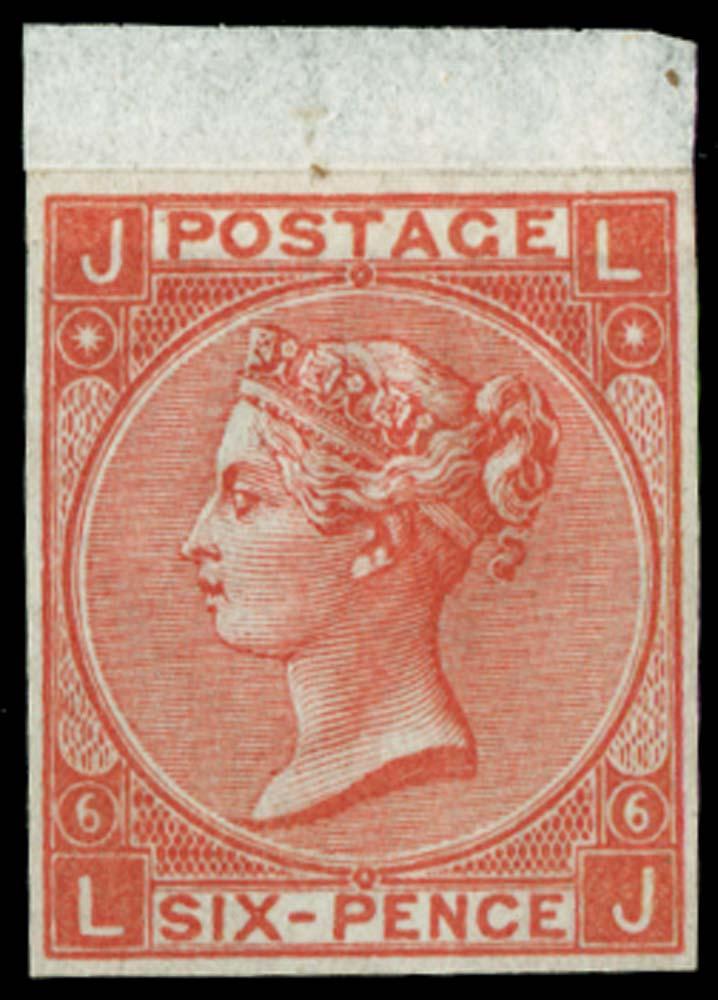 GB 1865  SG97var Mint