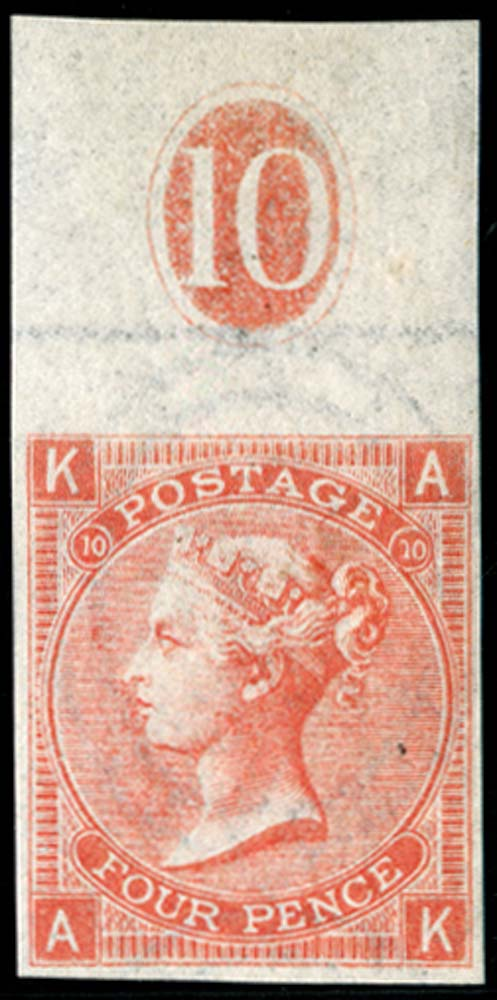GB 1868  SG94var Pl.10 Mint